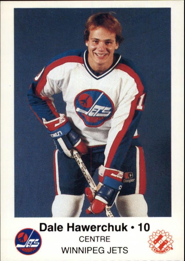 1984-85 Jets Police #8 Dale Hawerchuk 10
