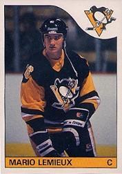 1985-86 O-Pee-Chee #9 Mario Lemieux RC