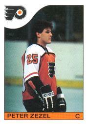 1985-86 O-Pee-Chee #24 Peter Zezel RC