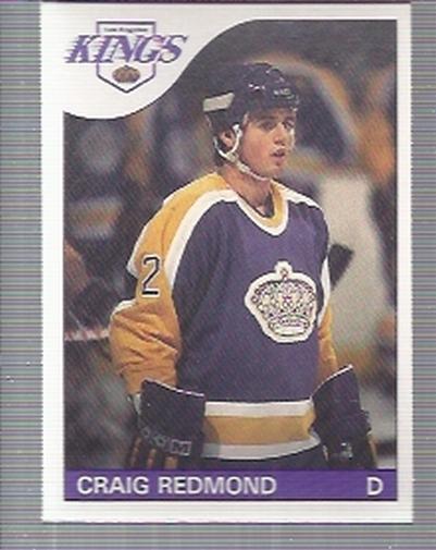 1985-86 O-Pee-Chee #121 Craig Redmond RC