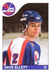 1985-86 O-Pee-Chee #185 Dave Ellett RC