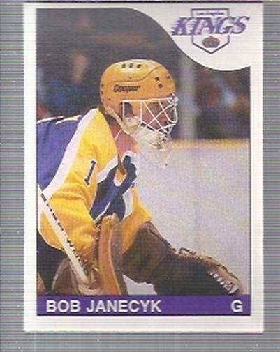 1985-86 O-Pee-Chee #223 Bob Janecyk RC