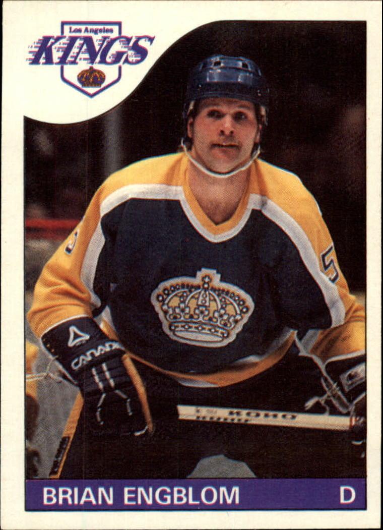 1985-86 Topps #5 Brian Engblom