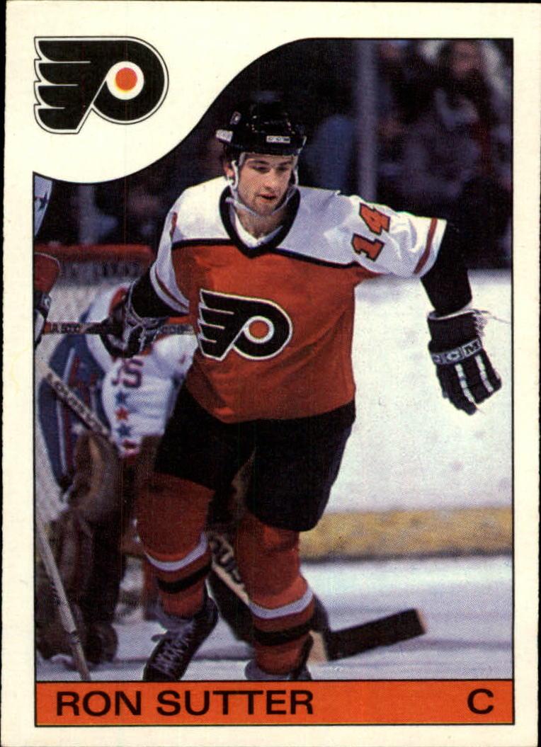 1985-86 Topps #6 Ron Sutter