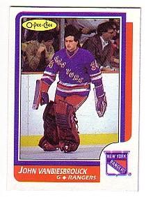 1986-87 O-Pee-Chee #9 John Vanbiesbrouck RC