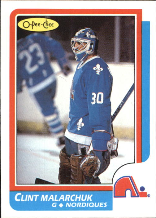 1986-87 O-Pee-Chee #47 Clint Malarchuk RC
