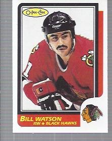 1986-87 O-Pee-Chee #151 Bill Watson RC