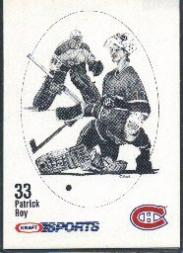 1986-87 Kraft Drawings #61 Patrick Roy