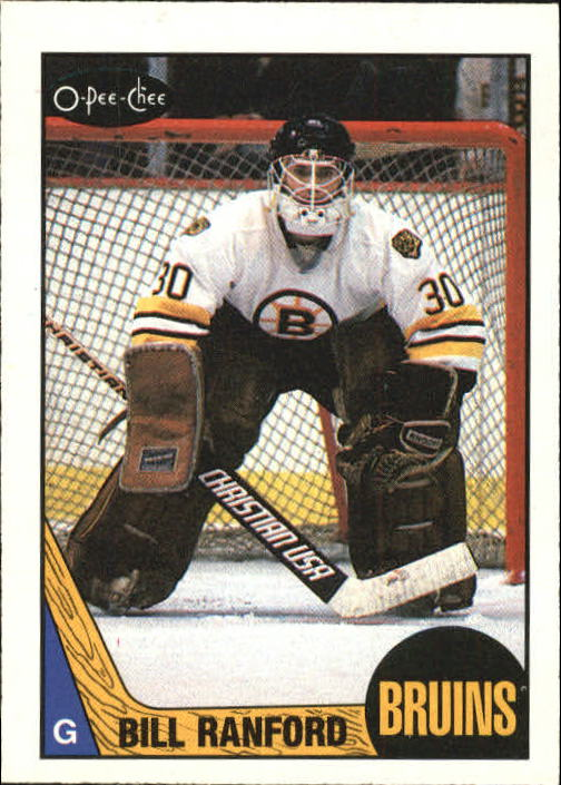 1987-88 O-Pee-Chee #13 Bill Ranford RC