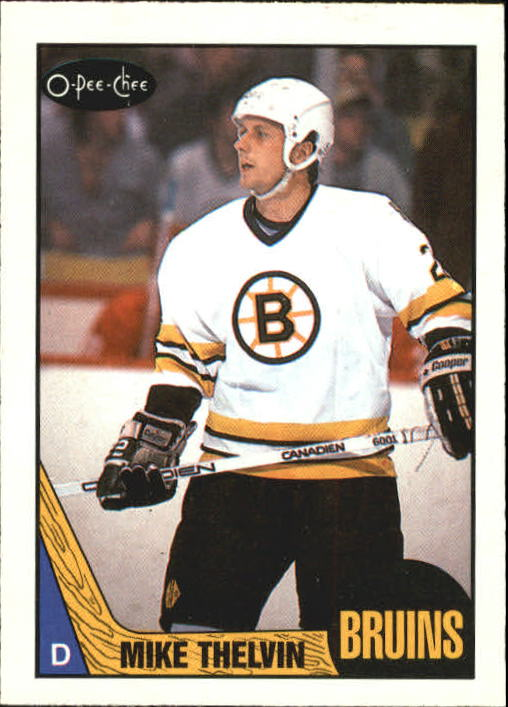 1987-88 O-Pee-Chee #24 Michael Thelven RC
