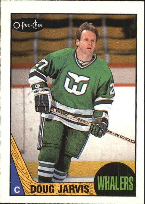 1987-88 O-Pee-Chee #95 Doug Jarvis