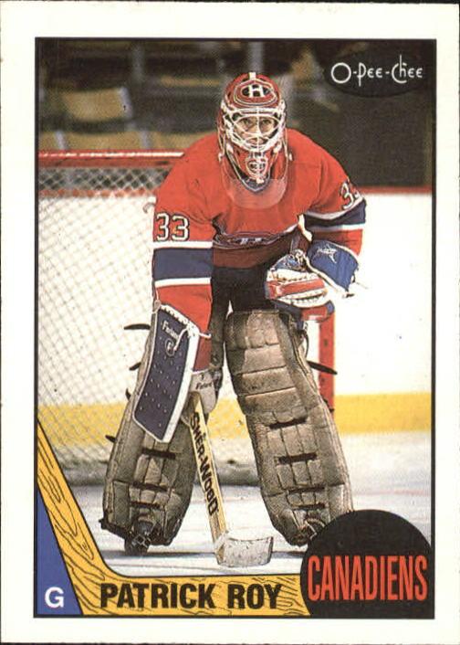 1987-88 O-Pee-Chee #163 Patrick Roy