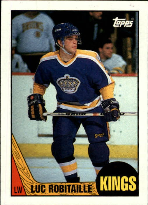 1987-88 Topps #42 Luc Robitaille RC