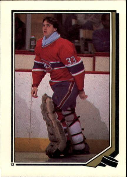 1987-88 O-Pee-Chee Stickers #13 Patrick Roy