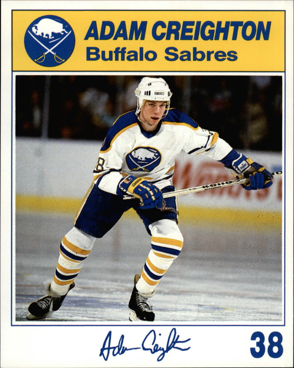 1987-88 Sabres Blue Shield #6 Adam Creighton 38