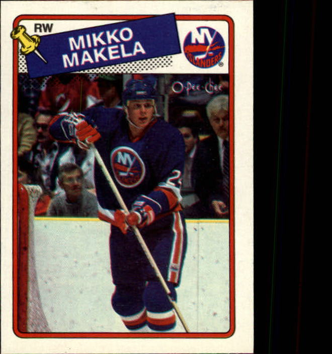 1988-89 O-Pee-Chee #44 Mikko Makela RC