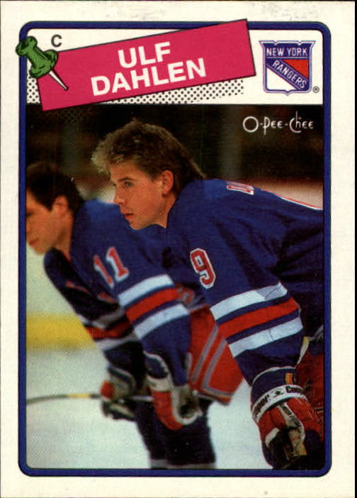 1988-89 O-Pee-Chee #47 Ulf Dahlen RC