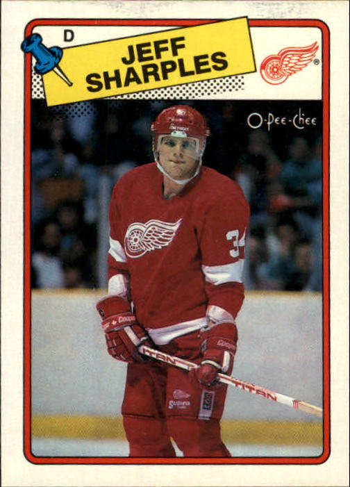 1988-89 O-Pee-Chee #48 Jeff Sharples RC