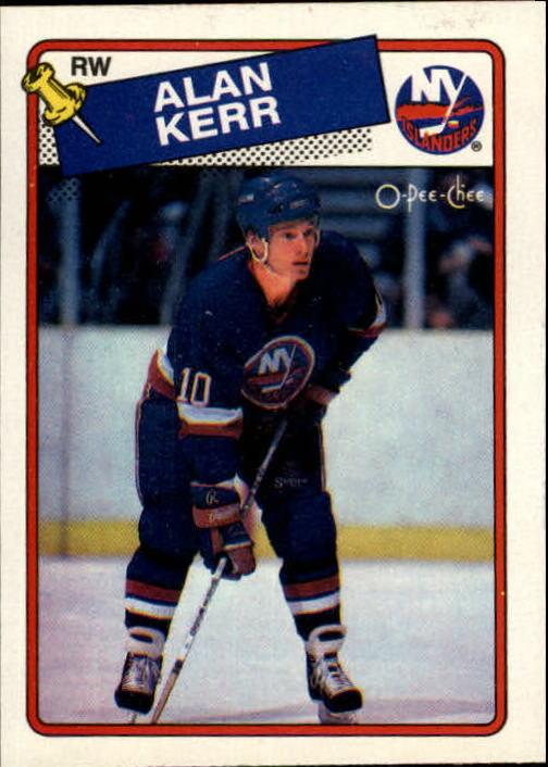 1988-89 O-Pee-Chee #63 Alan Kerr RC