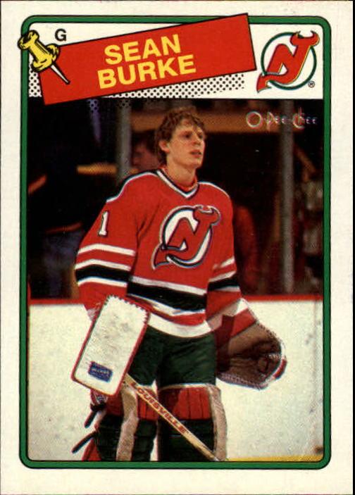1988-89 O-Pee-Chee #94 Sean Burke RC