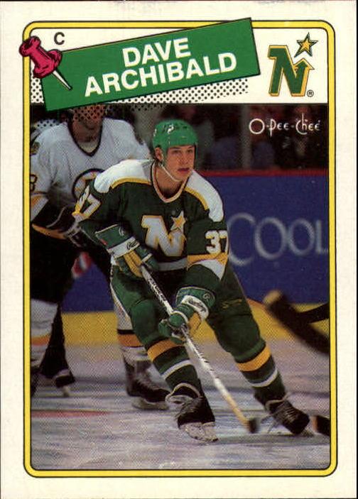 1988-89 O-Pee-Chee #112 Dave Archibald RC
