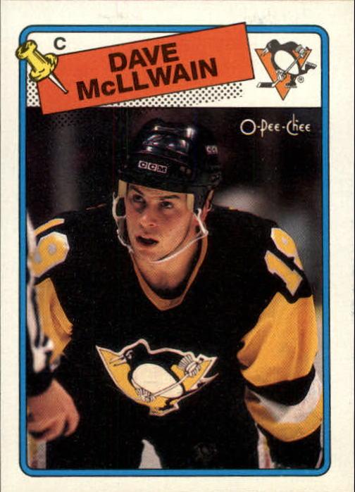 1988-89 O-Pee-Chee #132 Dave McLlwain RC