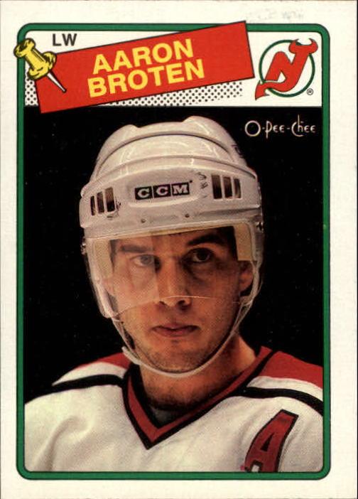 1988-89 O-Pee-Chee #138 Aaron Broten