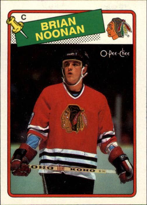 1988-89 O-Pee-Chee #165 Brian Noonan RC
