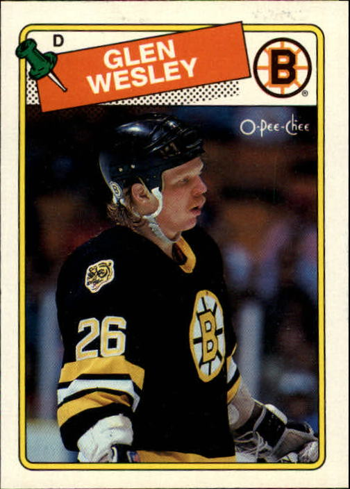 1988-89 O-Pee-Chee #166 Glen Wesley RC