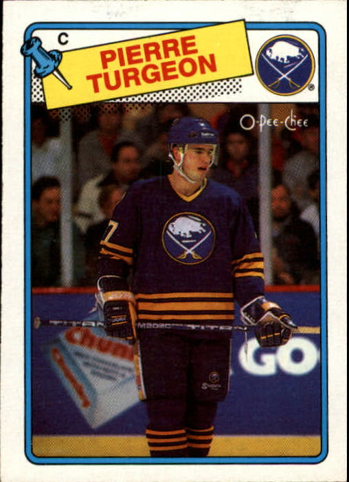 1988-89 O-Pee-Chee #194 Pierre Turgeon RC