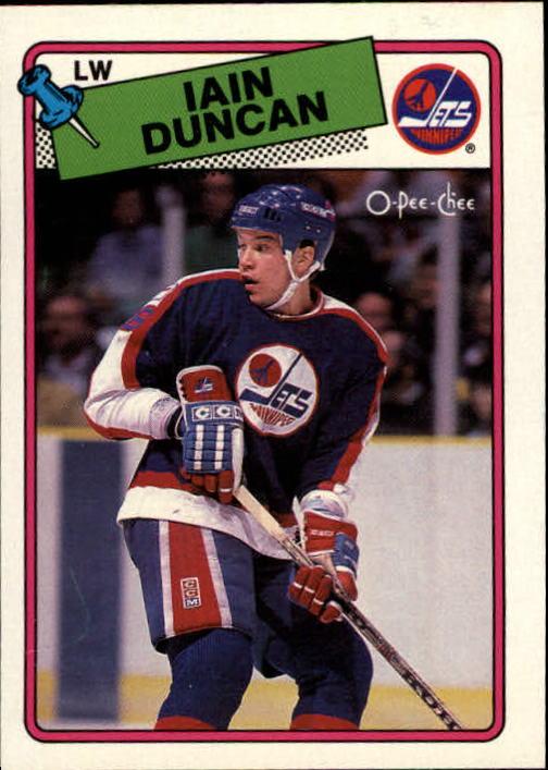 1988-89 O-Pee-Chee #209 Iain Duncan RC