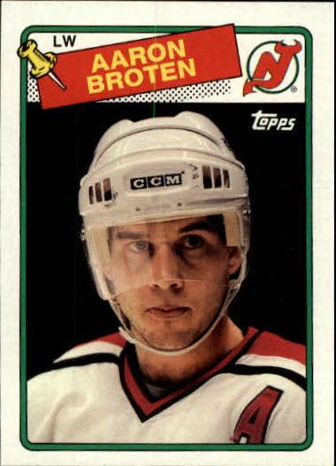 1988-89 Topps #138 Aaron Broten DP