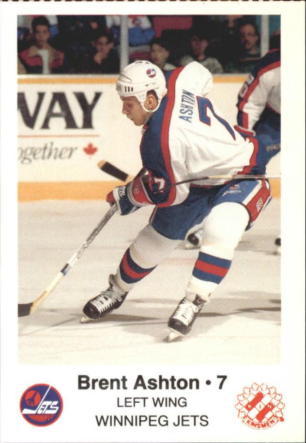 1988-89 Jets Police #1 Brent Ashton 7