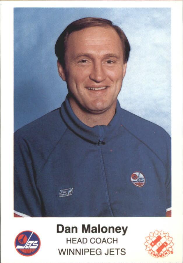 1988-89 Jets Police #13 Dan Maloney CO