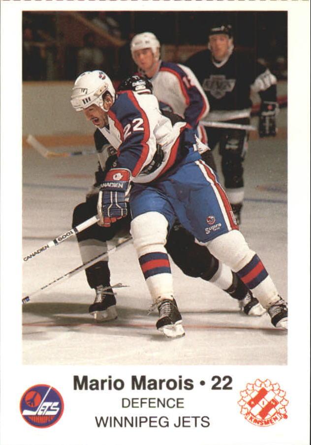 1988-89 Jets Police #14 Mario Marois 22