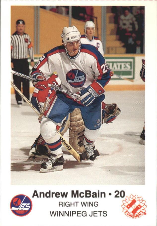 1988-89 Jets Police #15 Andrew McBain 20