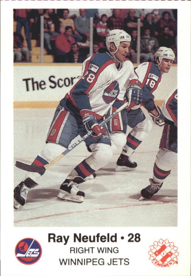 1988-89 Jets Police #16 Ray Neufeld 28