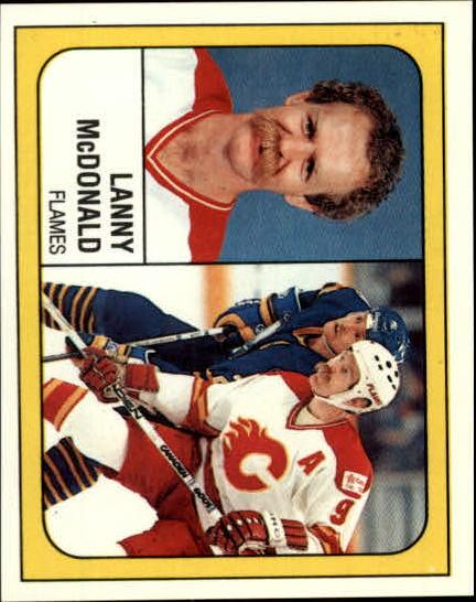 1988-89 Panini Stickers #10 Lanny McDonald