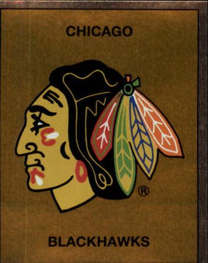 1988-89 Panini Stickers #18 Blackhawks Emblem
