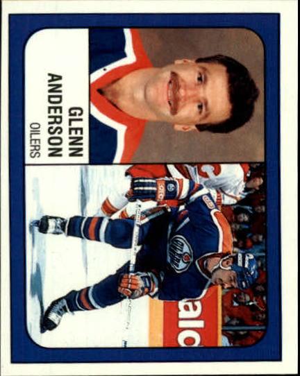 1988-89 Panini Stickers #57 Glenn Anderson