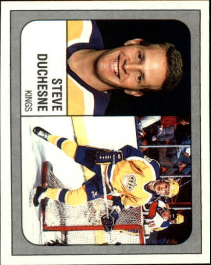 1988-89 Panini Stickers #70 Steve Duchesne