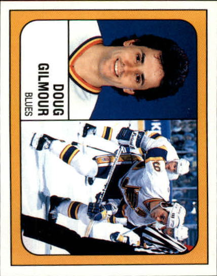 1988-89 Panini Stickers #105 Doug Gilmour