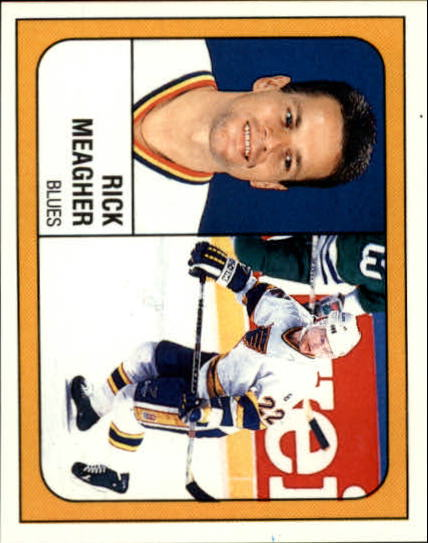 1988-89 Panini Stickers #110 Rick Meagher