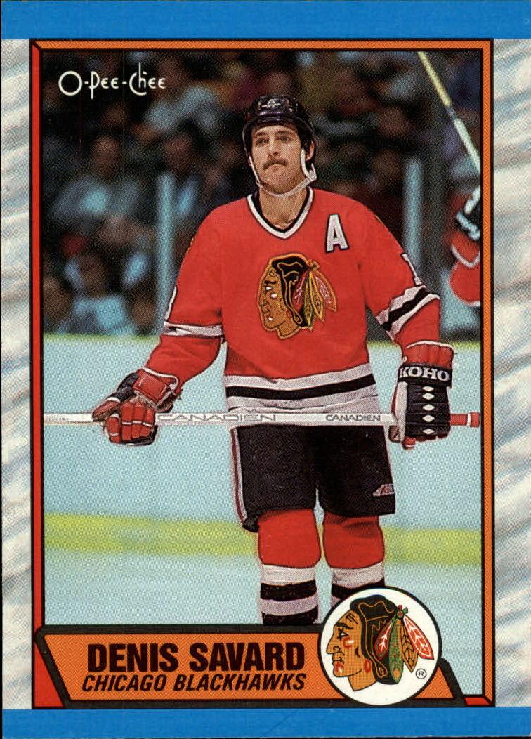 1989-90 O-Pee-Chee #5 Denis Savard