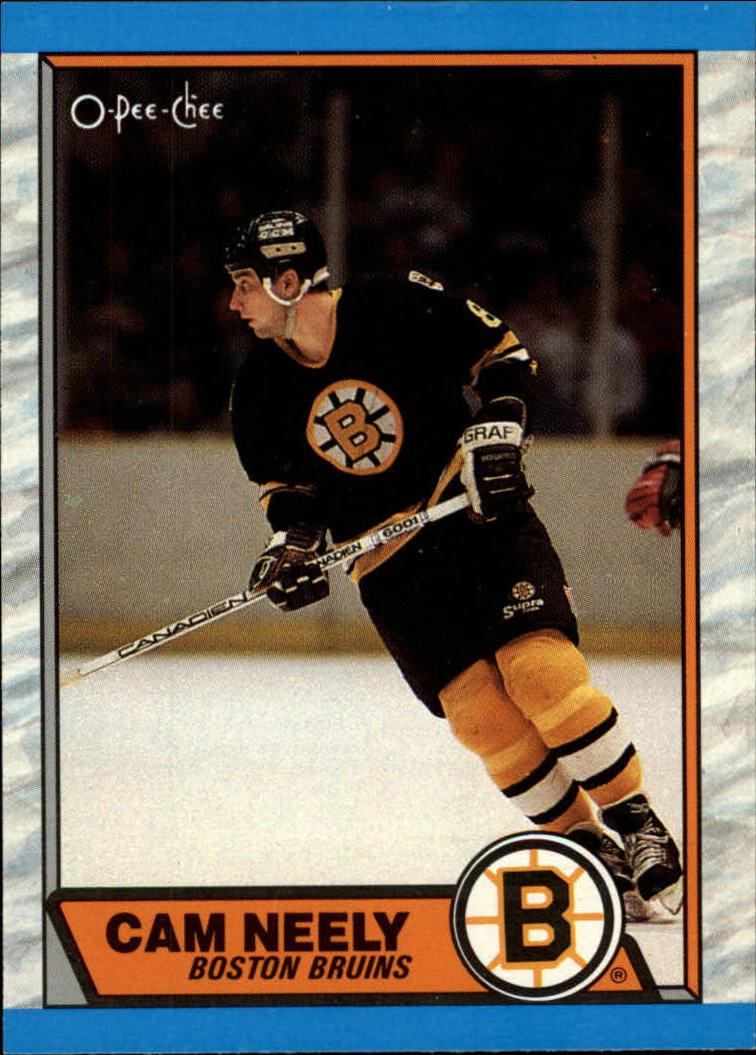 1989-90 O-Pee-Chee #15 Cam Neely