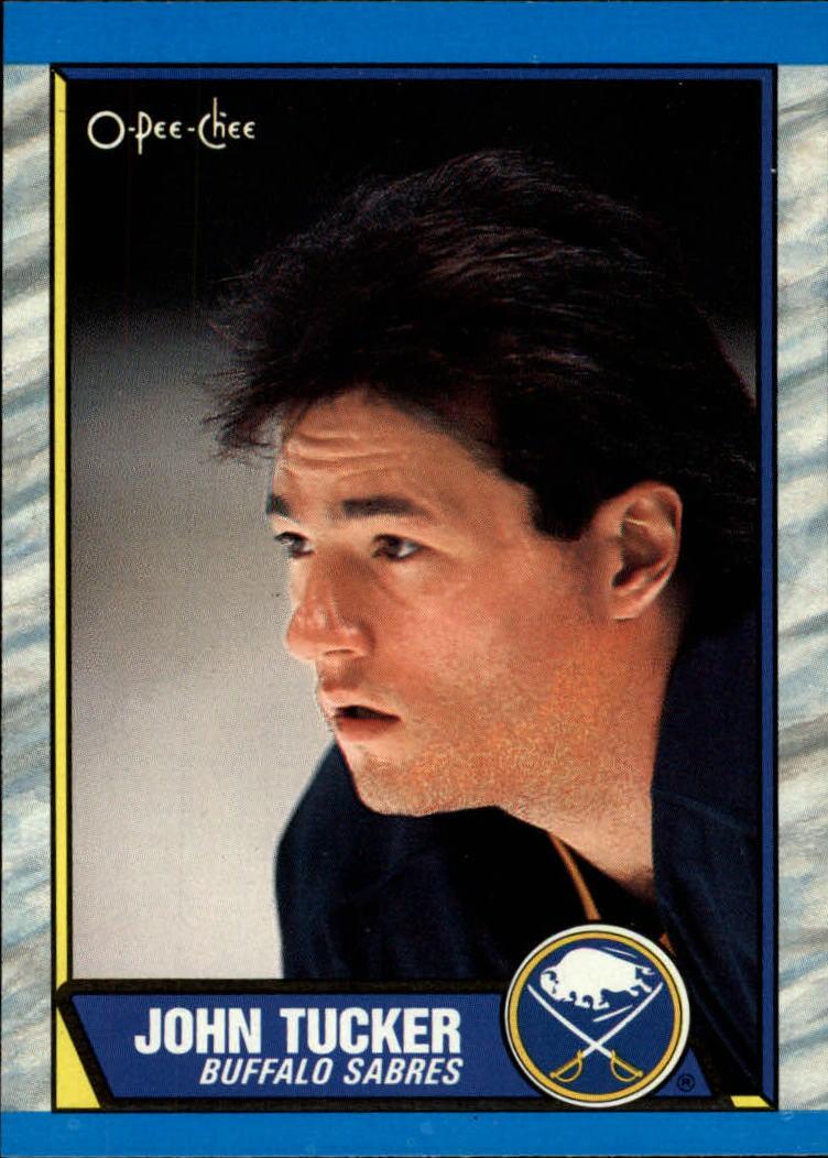 1989-90 O-Pee-Chee #37 John Tucker