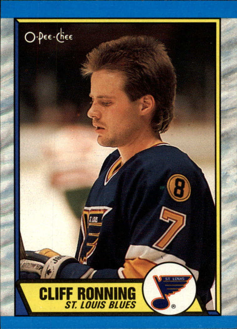 1989-90 O-Pee-Chee #45 Cliff Ronning RC