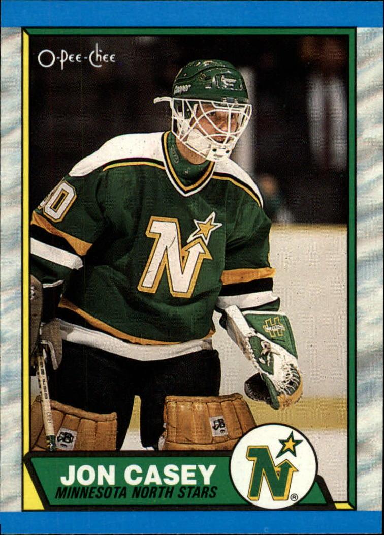 1989-90 O-Pee-Chee #48 Jon Casey RC