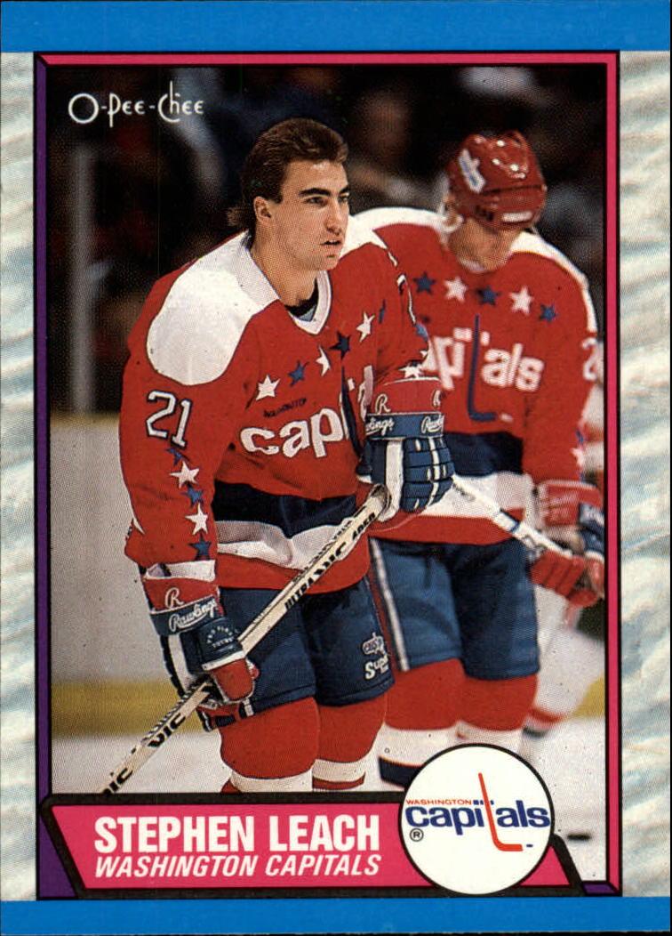1989-90 O-Pee-Chee #67 Stephen Leach RC