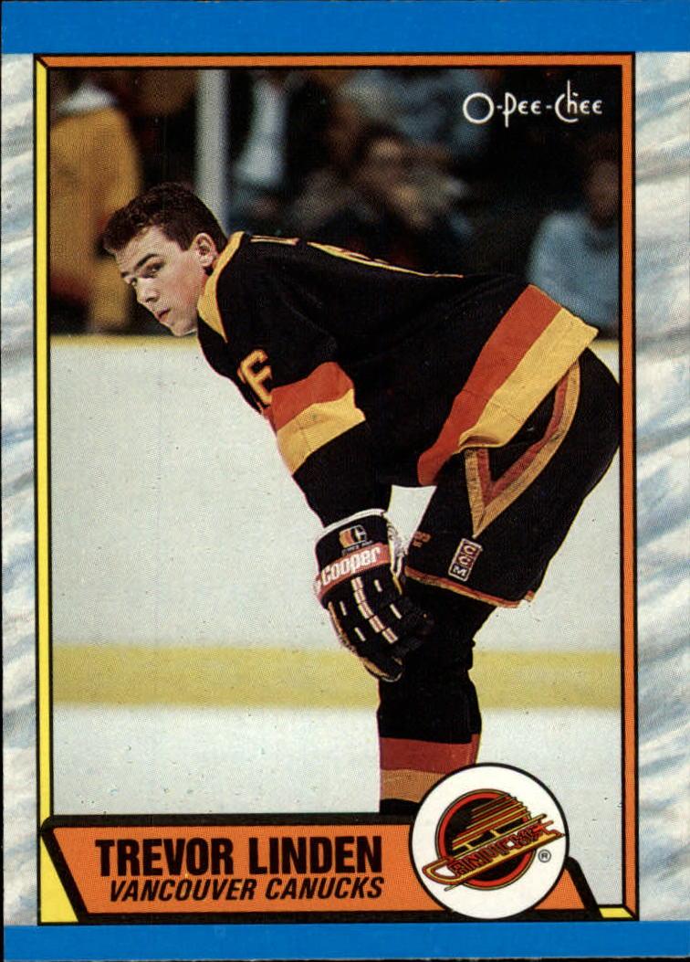 1989-90 O-Pee-Chee #89 Trevor Linden RC